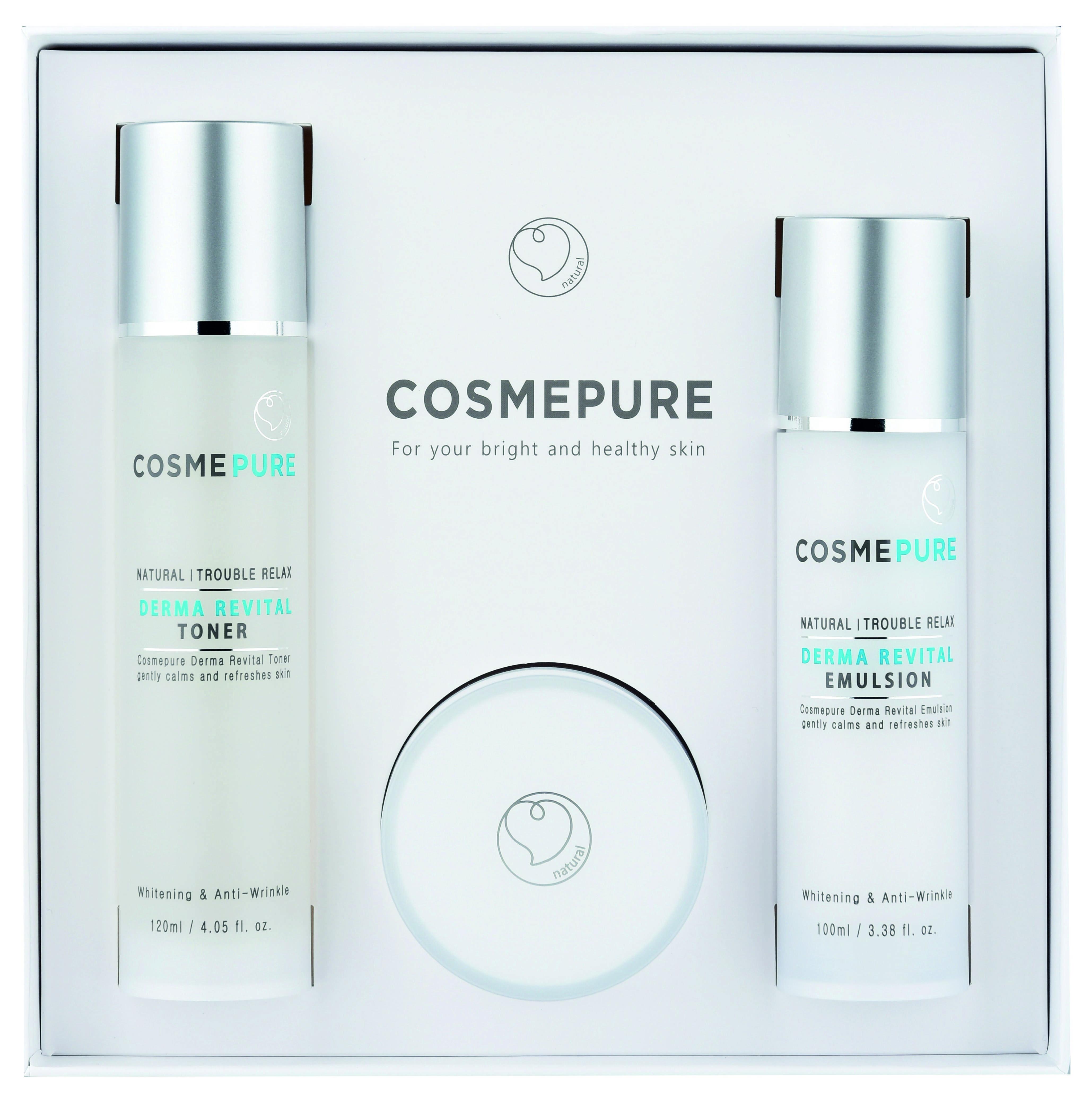 COSMEPURE Derma Revital Skin Care Set