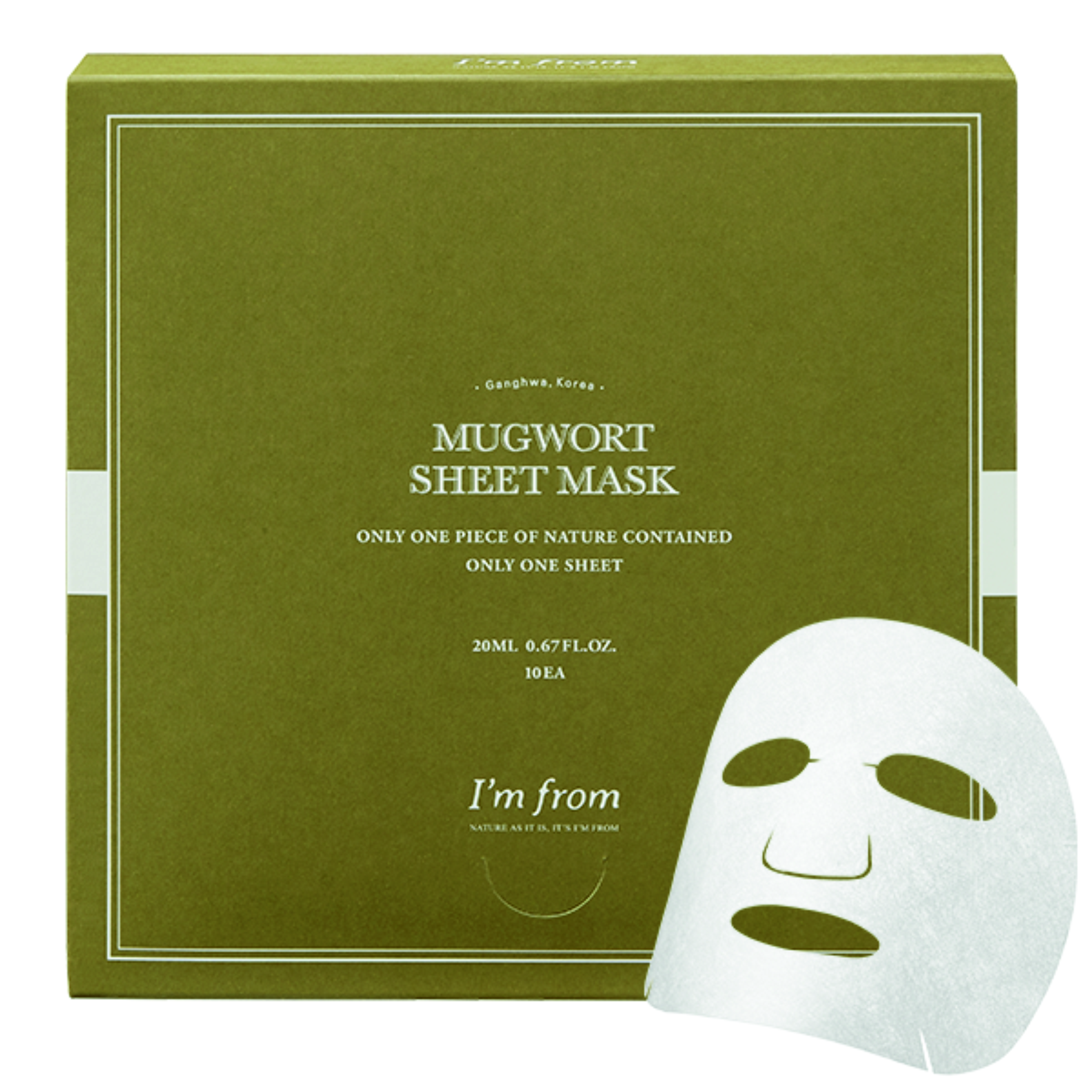 I`m from Mugwort Sheet Mask