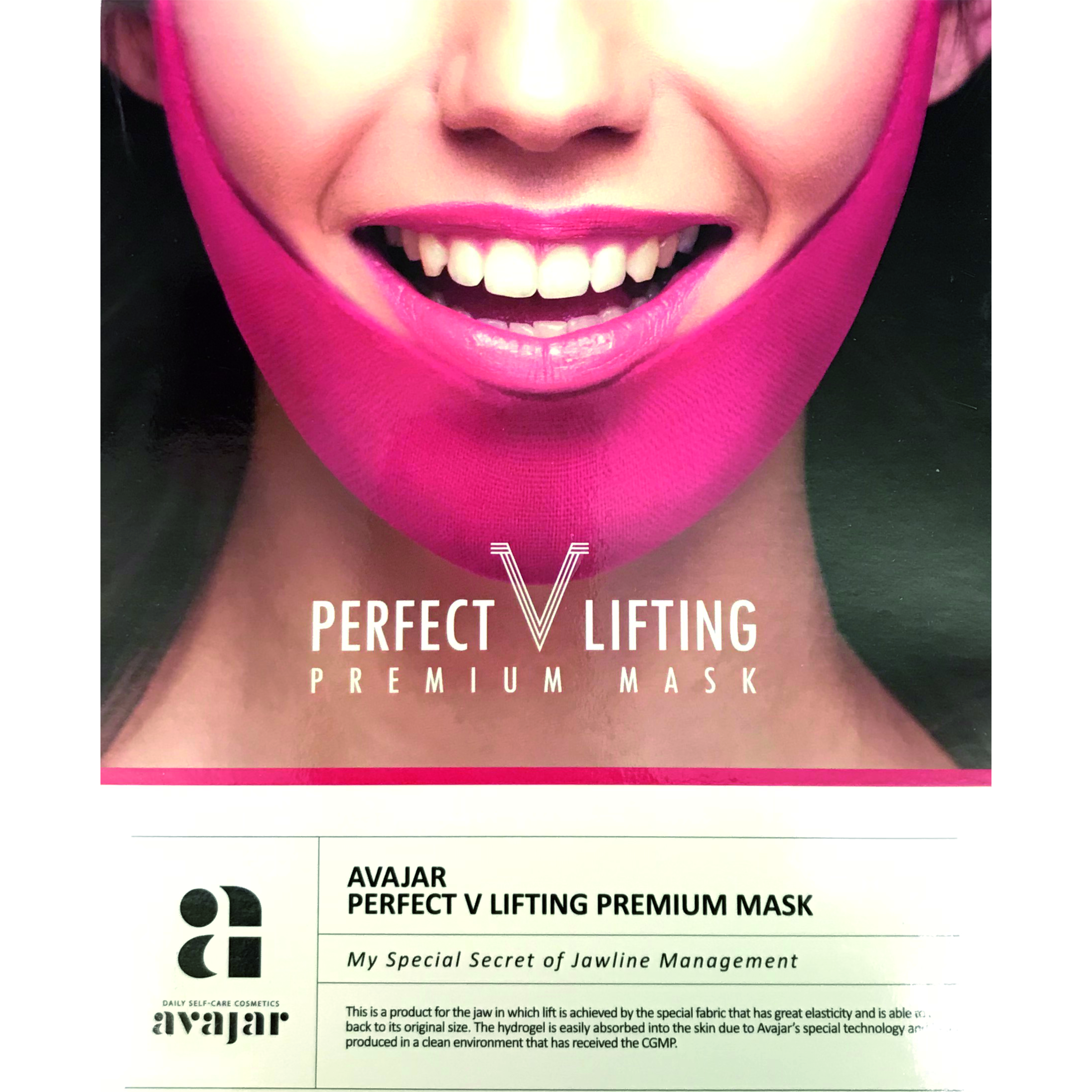 AVAJAR Perfect V Lifting Premium Maske